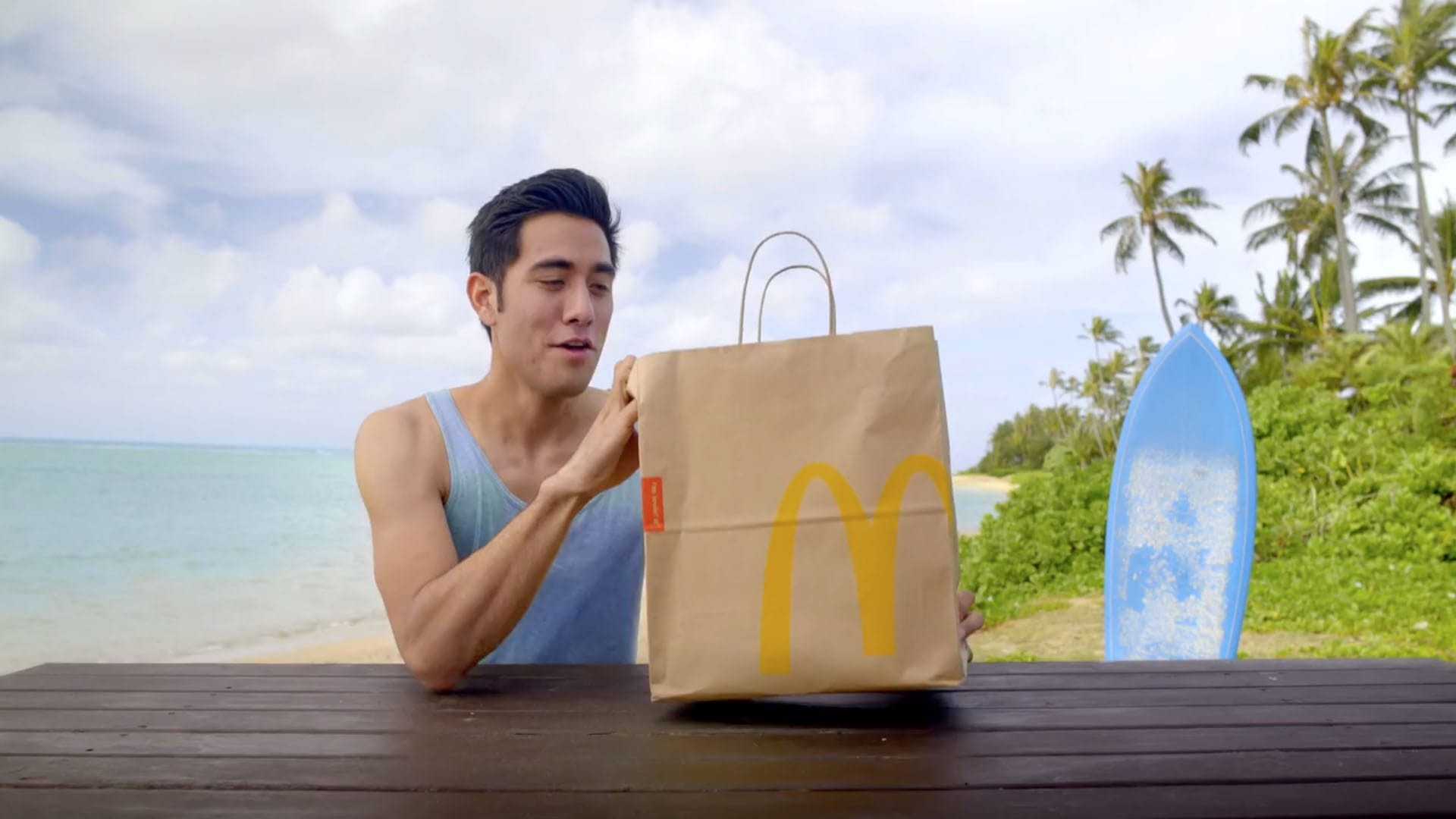 McDonald's of Hawaii: Amazing Ingredients Campaign - How Zach King refuels after dawn patrol
