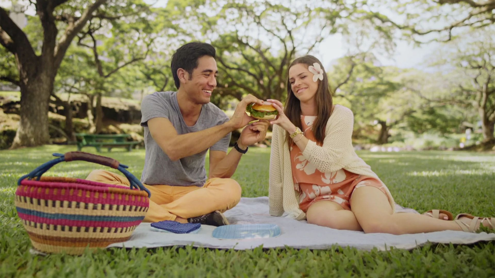 McDonald's of Hawaii: Amazing Ingredients Campaign - Have a picnic with Zach King!