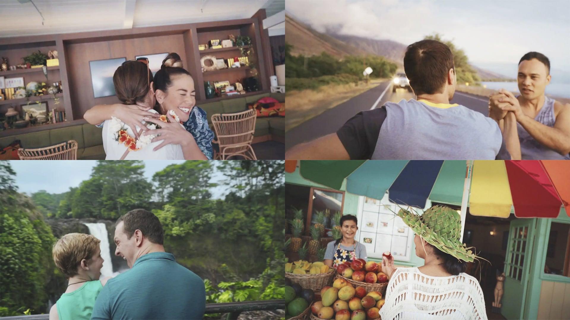 Let Hawaii Happen Campaign Collage