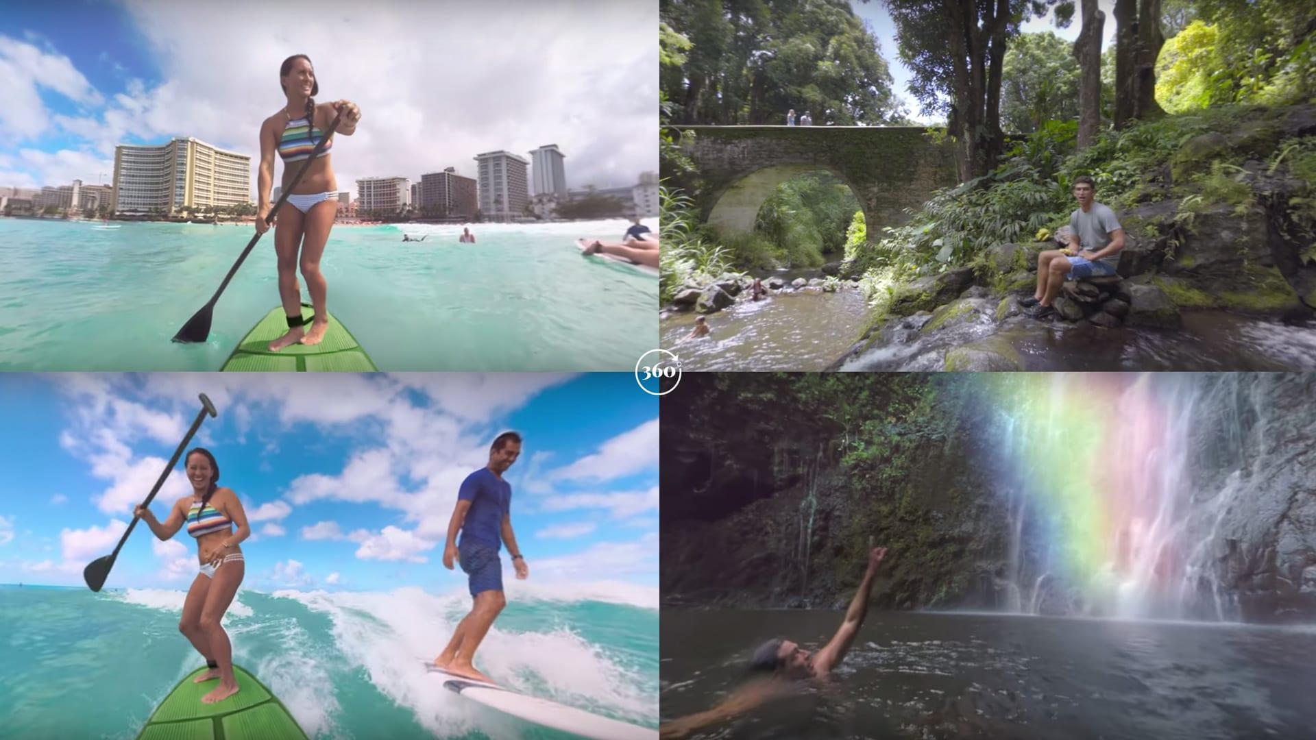 Hawaii VR 360 Video Grid