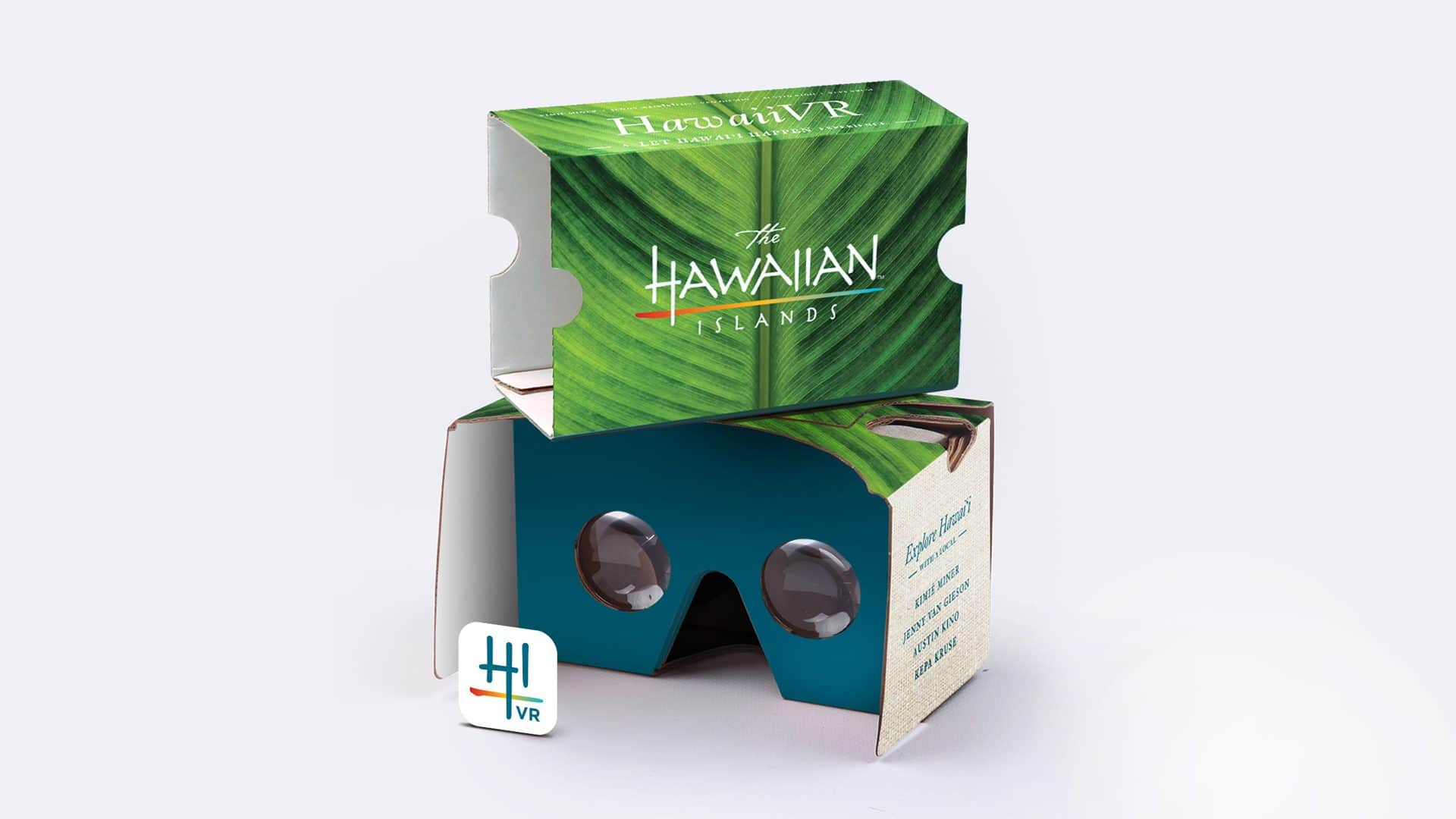 Hawaii VR Google Cardboard