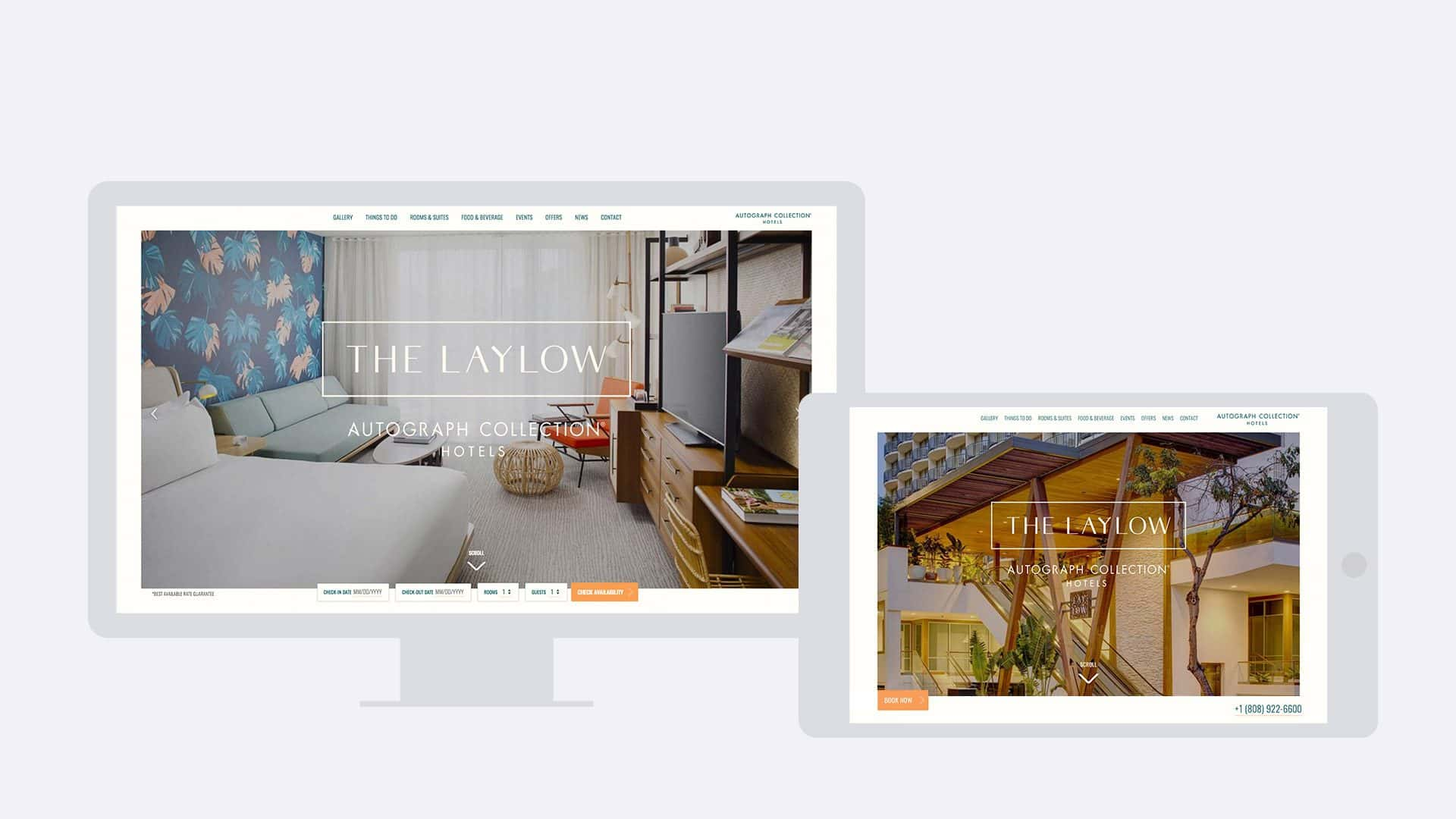 The LayLow Waikiki Website