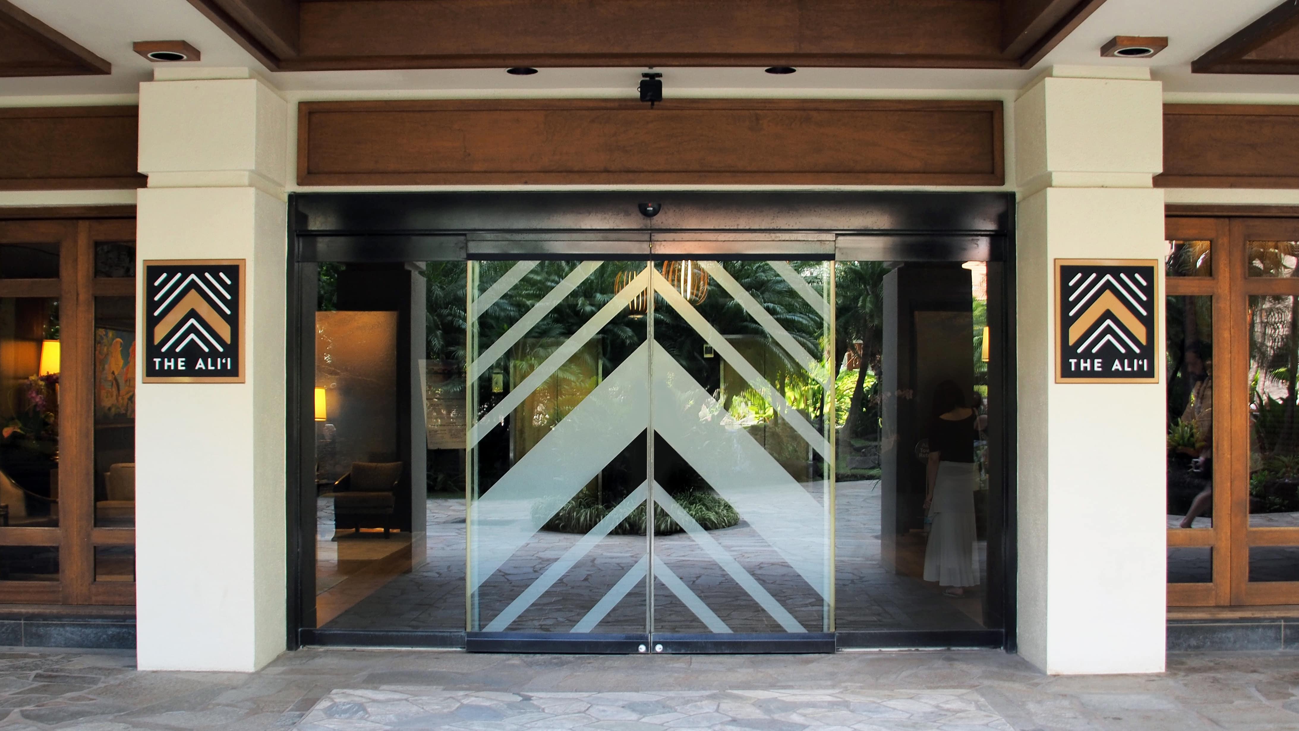 The Ali'i Entrance