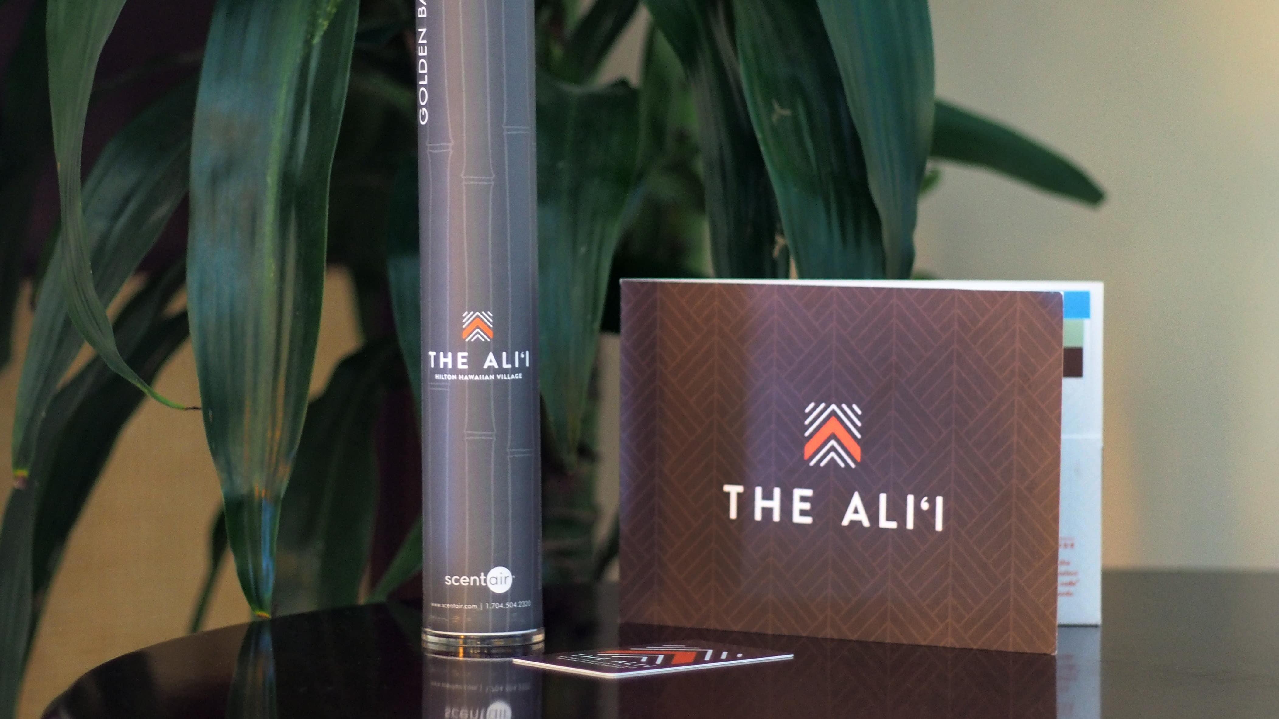 The Ali'i Print Collateral