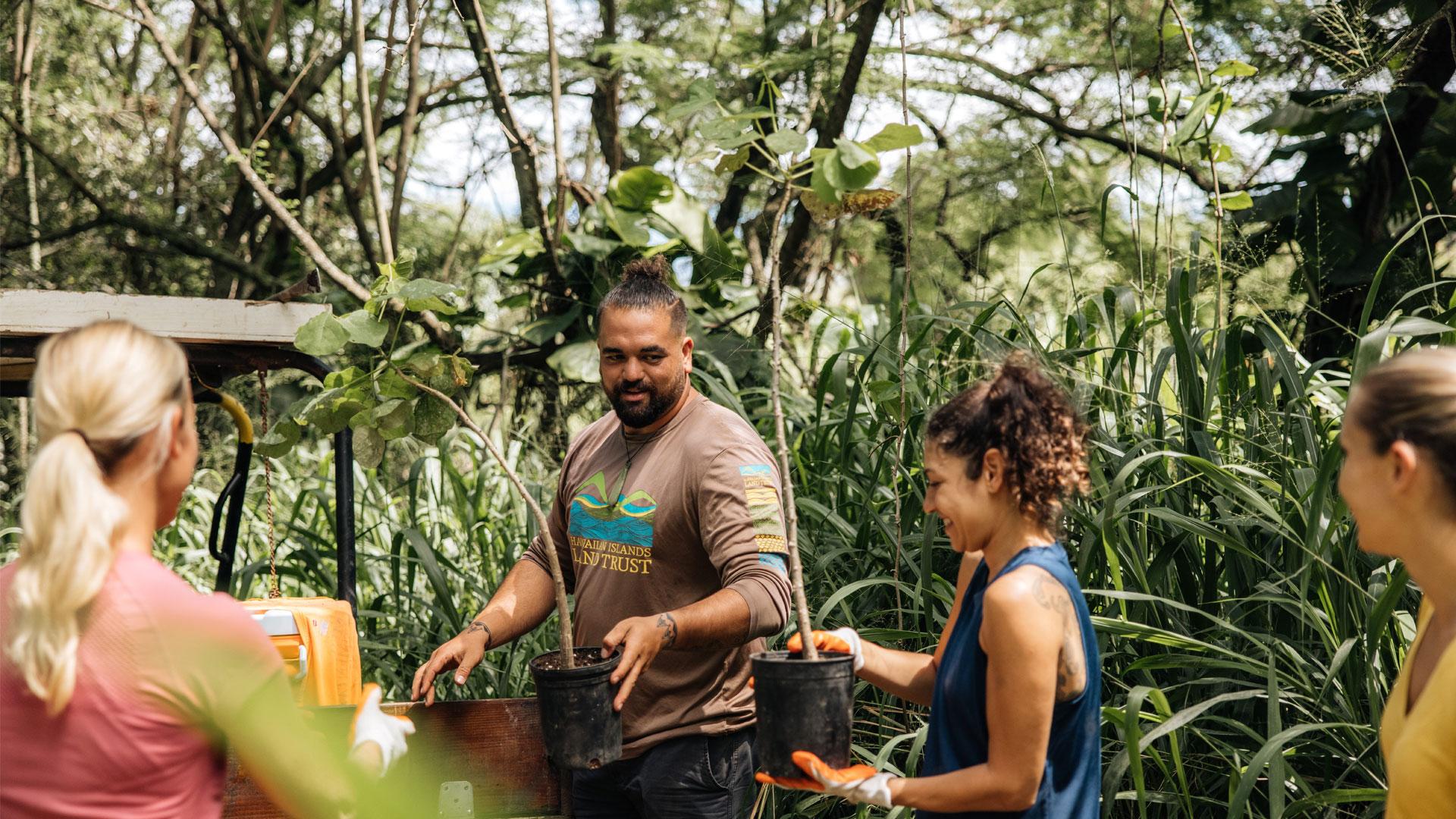 HVCB Habitat Stewardship Malama Hawaii